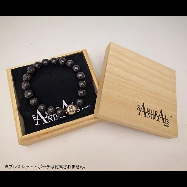 サムライアニマルズ 天然石ブレスレット専用 桐箱ギフトボックス