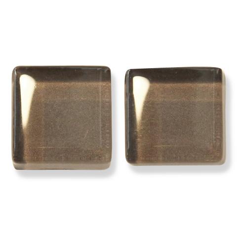 ガラスモザイク10 ミンク Mink(茶系) 【クラフト用10mm角ガラスモザイクタイル】