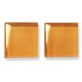 ガラスモザイク10 アンバー Amber(黄色系) 【クラフト用10mm角ガラスモザイクタイル】