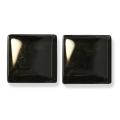 ガラスモザイク10 ブラック Black(黒) 【クラフト用10mm角ガラスモザイクタイル】