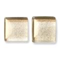 ガラスモザイク10 ブロンズ Bronze(青銅) 【クラフト用10mm角ガラスモザイクタイル】
