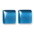 ガラスモザイク10 セルリアン・ブルー Cerulean Blue(青系) 【クラフト用10mm角ガラスモザイクタイル】