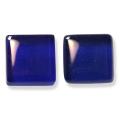 ガラスモザイク10 ダーク・ブルー Dark Blue(青系) 【クラフト用10mm角ガラスモザイクタイル】