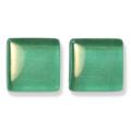 ガラスモザイク10 エメラルド Emerald(緑系) 【クラフト用10mm角ガラスモザイクタイル】