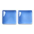 ガラスモザイク10 グロス・ブルー Gloss Blue (青系) 【クラフト用10mm角ガラスモザイクタイル】
