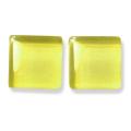 ガラスモザイク10 ライト・イエロー Lt.Yellow(黄色系) 【クラフト用10mm角ガラスモザイクタイル】
