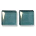 ガラスモザイク10 ムーンライト・ブルー Moonlight Blue(緑系) 【クラフト用10mm角ガラスモザイクタイル】