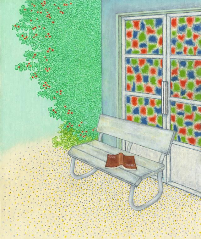 絵画「お気に入りの場所」リュウ/ジクレー ☆作品のみの購入はこちらで