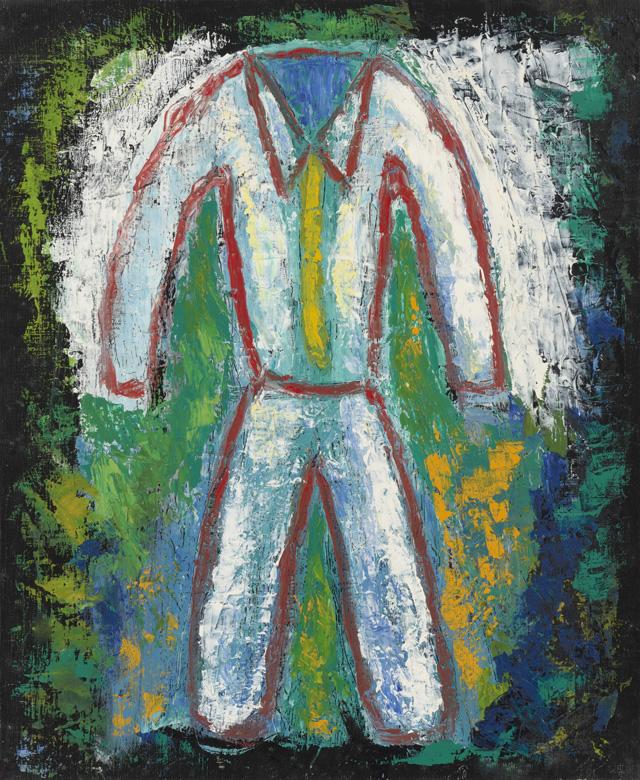 絵画「白い服」ヒロ榎本/デジタル版画 ☆作品のみの購入はこちらで