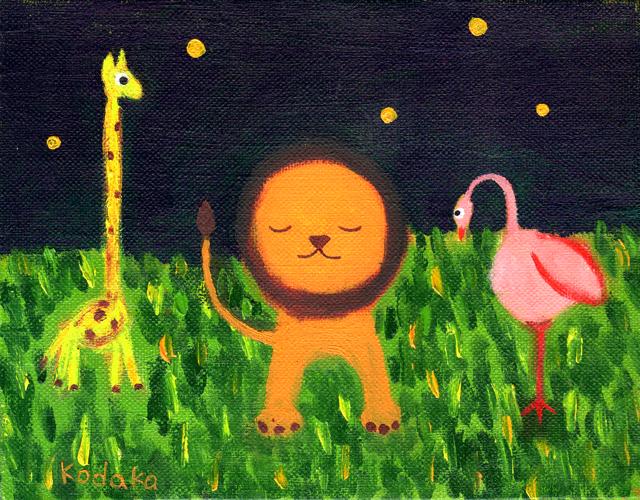 絵画「静寂」小高武/原画(油絵) ☆原画のあじわいはまた格別