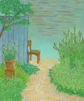 絵画「みちの向こう」リュウ/デジタル版画 ☆作品のみの購入はこちらで