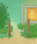 絵画「みちの向こう2」リュウ/デジタル版画 ☆作品のみの購入はこちらで
