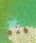 絵画「ちりばめて」リュウ/デジタル版画 ☆作品のみの購入はこちらで