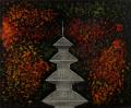 絵画「秋の京都」ヒロ榎本/デジタル版画 ☆作品のみの購入はこちらで