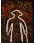 絵画「真夏の夜の夢」ヒロ榎本/デジタル版画 ☆作品のみの購入はこちらで