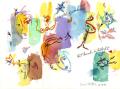 絵画「World Of Wonder」アーヴィング・ステットナー/ジクレー ☆作品のみの購入はこちらで