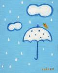 絵画「雨ニモ負ケズ」小高武/原画(油絵) ☆原画のあじわいはまた格別