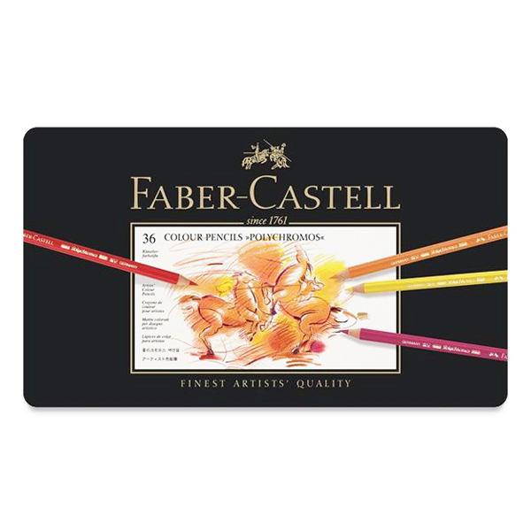 ファーバーカステル ポリクロモス色鉛筆 36色セット
