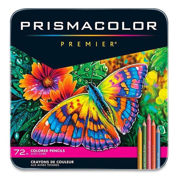 プリズマカラー プレミア色鉛筆 72色セット