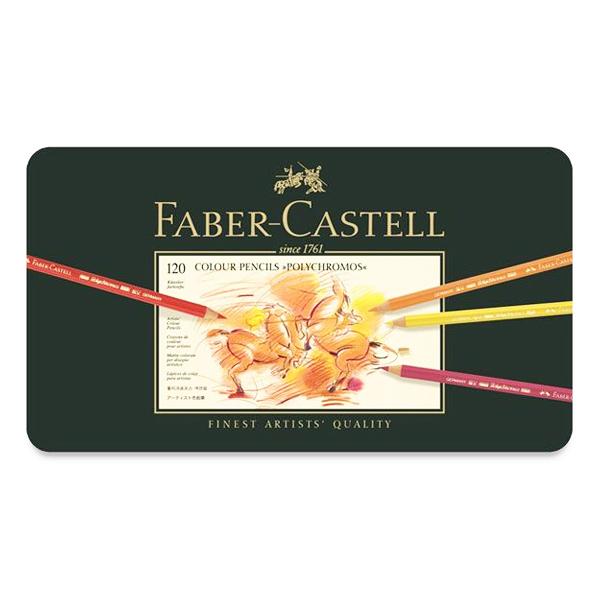 ファーバーカステル ポリクロモス色鉛筆 120色セット