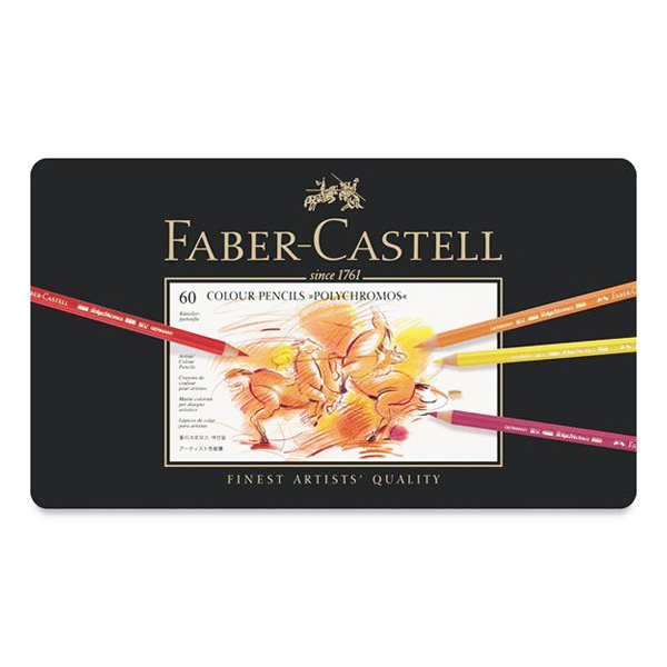 ファーバーカステル ポリクロモス色鉛筆 60色セット
