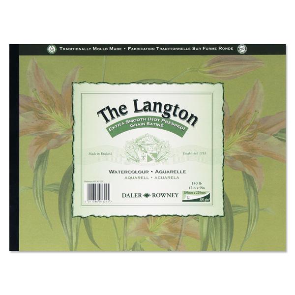 ラウニー ラングトン 水彩紙(パッド 300g/m 40.6x30.5cm 12枚)