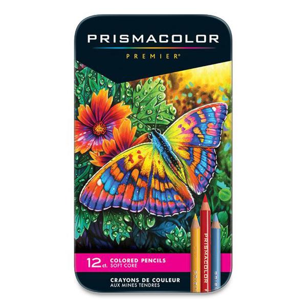 プリズマカラー プレミア色鉛筆 12色セット