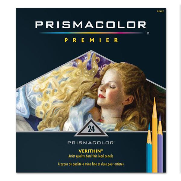 プリズマカラー・ベリシン色鉛筆 24色セット