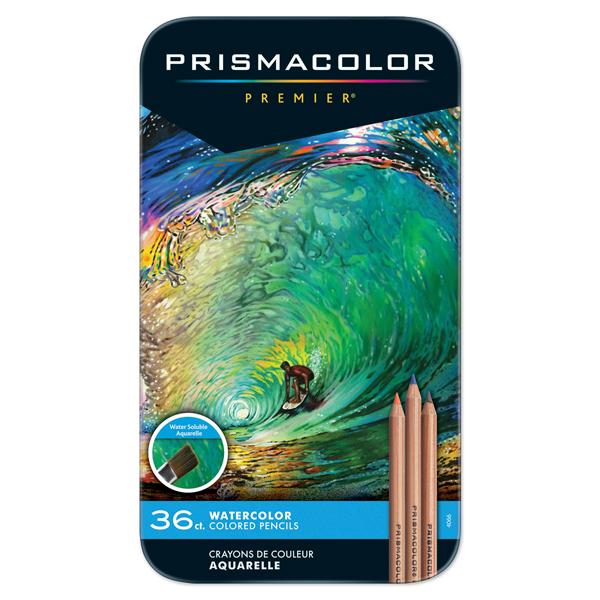 プリズマカラープレミア水彩色鉛筆・36色セット