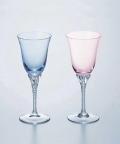 ホーソン クリスタルペアワイン【名入れ彫刻】