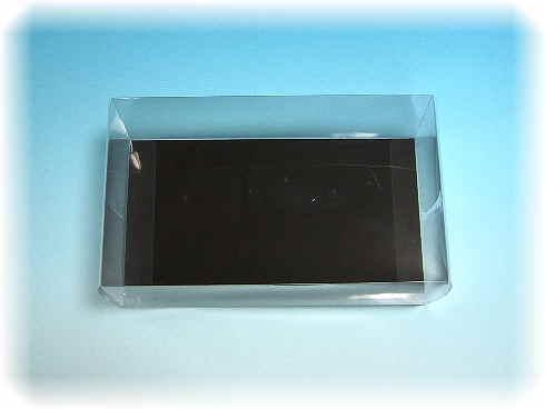 コサージュケース(折りたたみ式/底黒)特大