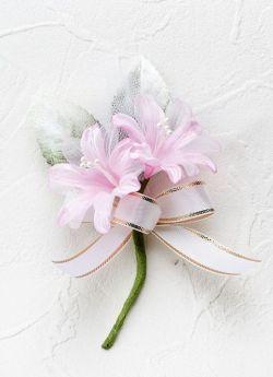 シェリーの手作りコサージュキット(ピンク)