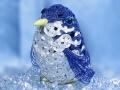 水引で作った可愛いペンギン