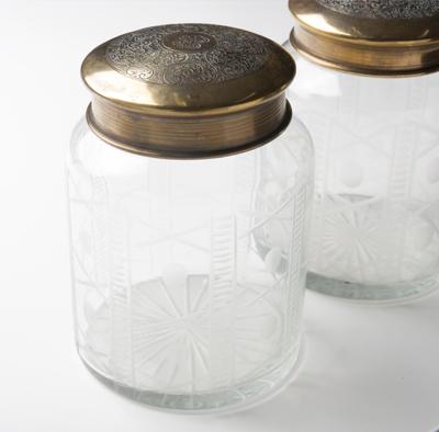 カッティンググラス 小物入れ2個セット