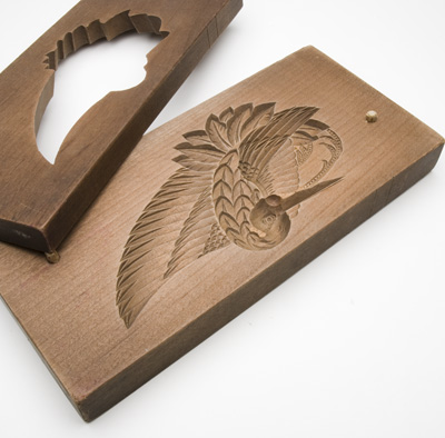 干菓子木型(鶴)