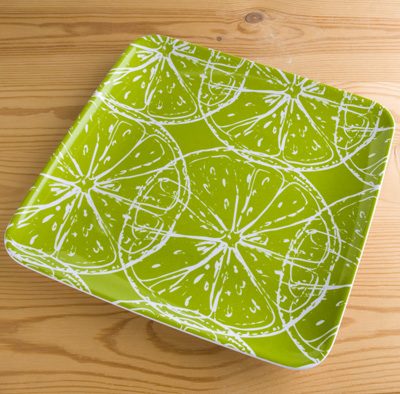 Plate green(Sur La Table)