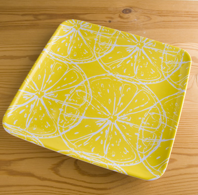 Plate yellow(Sur La Table)