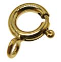 ゴールドフィルド・引き輪/オープン・タイプ(8mm)「14kgf」(5個)