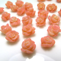 コーラル ルース 薔薇バラ (珊瑚・サンゴ)(染・ピンク)/片穴 9〜12mm×6〜10mm(3個)