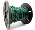 本革レザーコード・丸革紐/グリーン/1mm×10メートル×1本