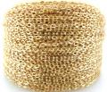 ゴールドフィルド・平アズキチェーン(1.1mm)1メートル「14kgf」(1本)