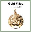 ゴールドフィルド・チャーム(コイン)【D】「14kgf」(1個)