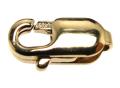 ゴールドフィルド・ロブスタークラスプ(4mm×10mm)「14kgf」(2個)