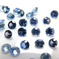 天然石ルース(裸石)・ブルーサファイア(セイロン・スリランカ産・加熱)/ラウンド【2.2mm】ダイヤモンドカット(1個)