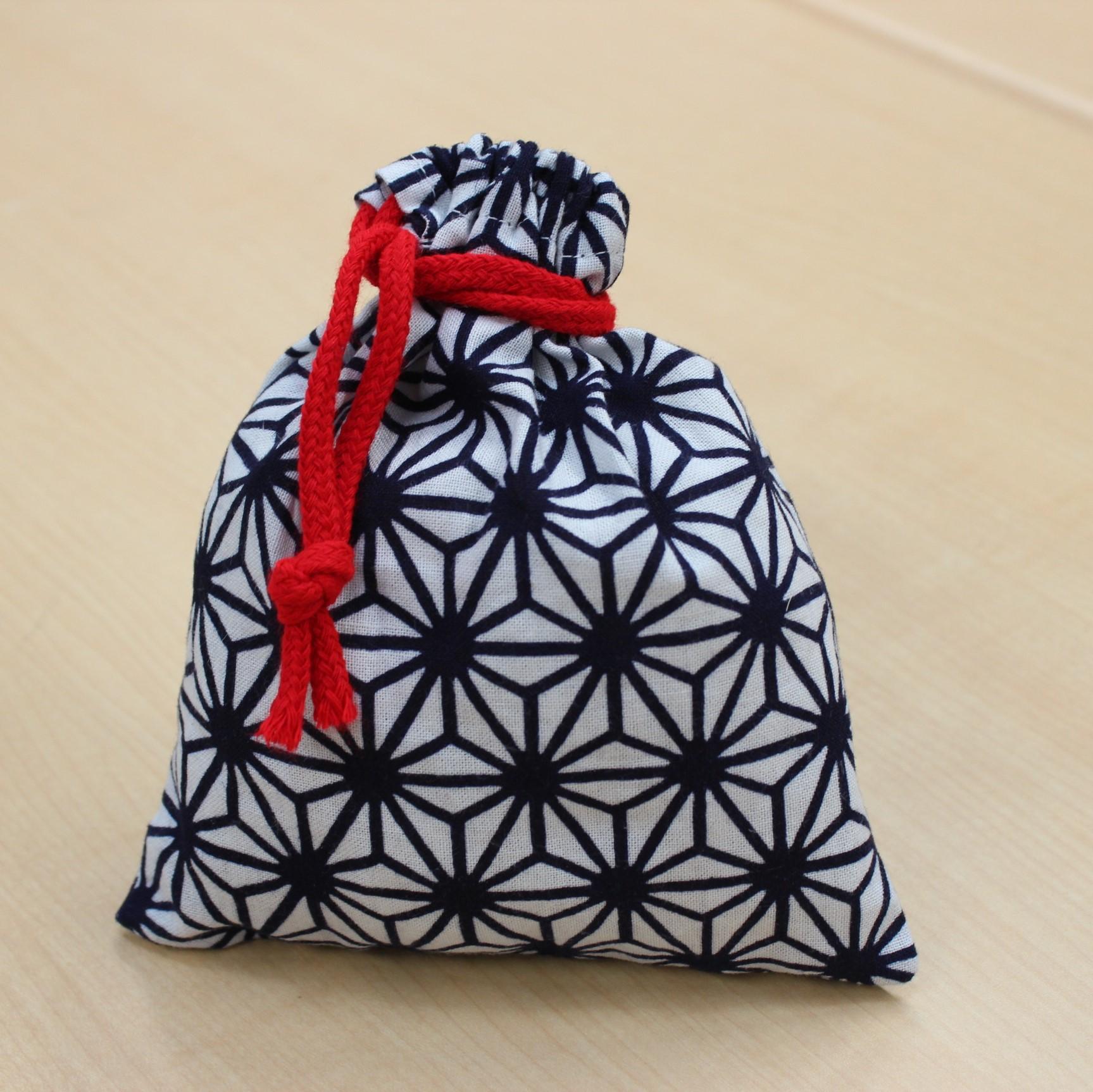 麻の葉 巾着袋