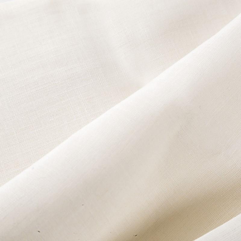 【プレミアム・約150cm幅】ヘンプ100%生地 36Nm(薄手) 日本織立 オフ白