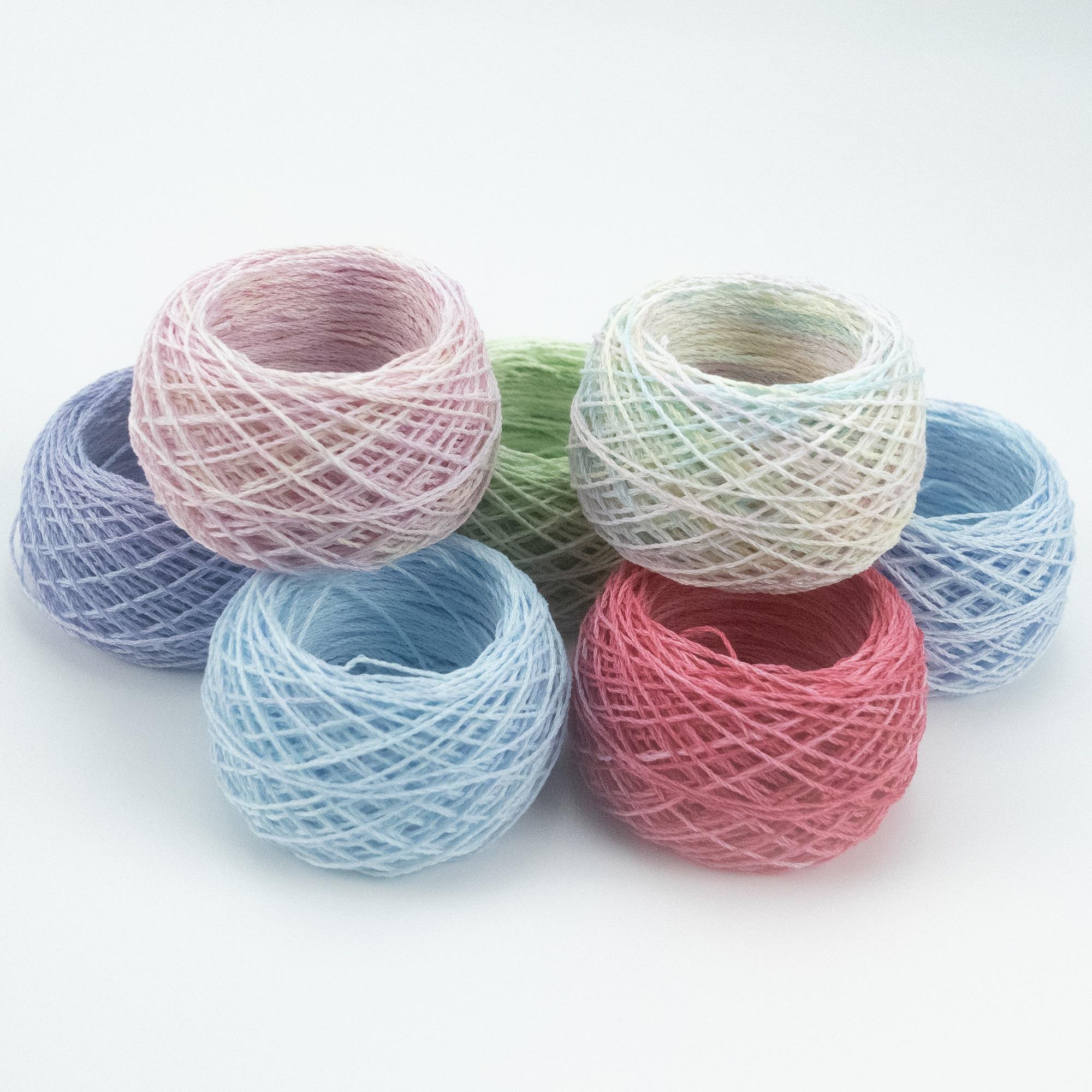 【10g(約20m)玉巻き】手仕事用ヘンプ糸 ~手編み・アクセサリー・手織り用に~