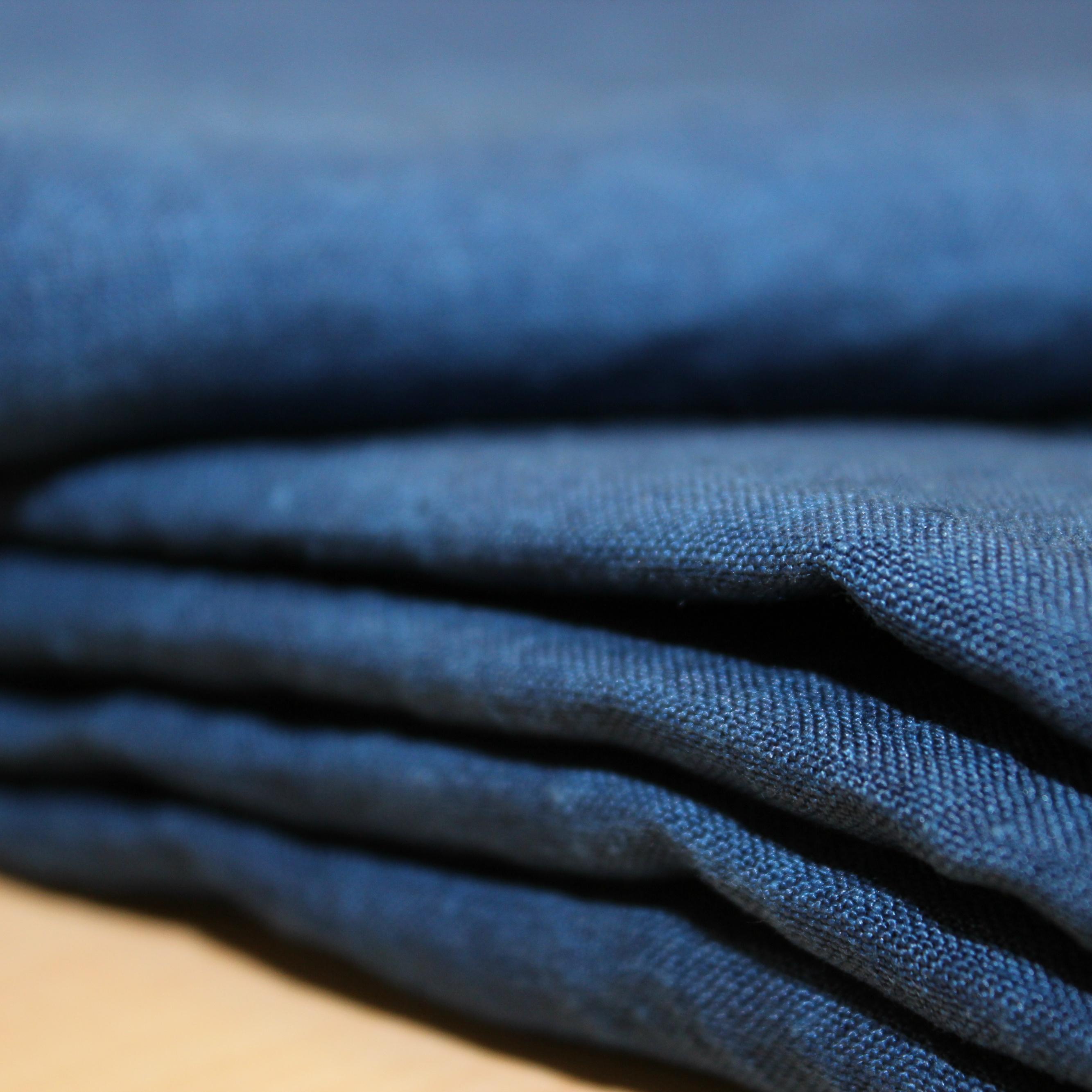 限定ヘンプシーツ&枕カバー藍染め