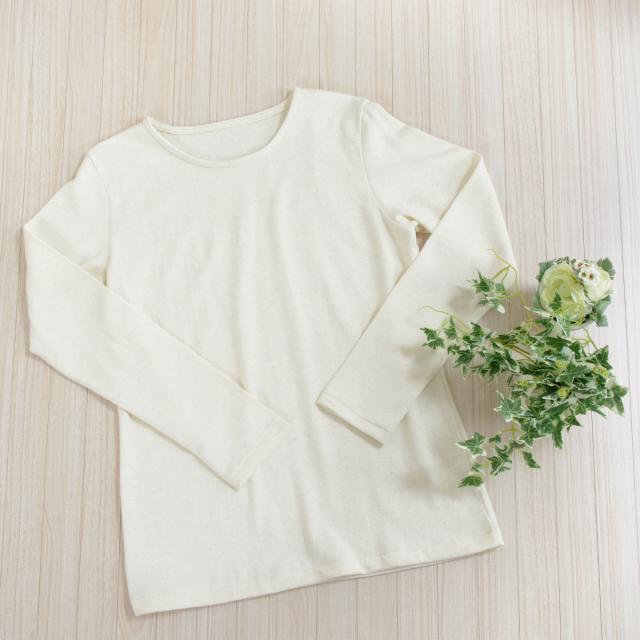 ヘンプ長袖Tシャツ