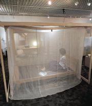 【受注生産】国産無垢桧(ヒノキ)の蚊帳フレーム
